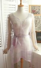 women ladies 100% pure silk organza top fit any size Au8-14