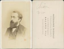 Brisson CDV vintage albumen. Eugène Henri Brisson, né à Bourges (Cher) le 31 jui