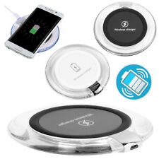 WIRELESS CHARGE PAD Mat BLUE LED GLOW Samsung HTC Google LG Nokia iPhone Grip