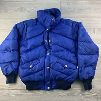 *THE NORTH FACE Brown Label Down  FULL ZIP HOODED WINTER JACKET COAT SIZE M