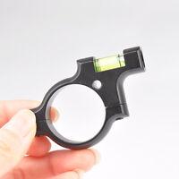 Metal 30mm Ring mount W/ Spirit Bubble Level For Rifle Scope Hunting Gun