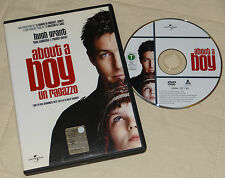 About a boy - Hugh Grant; Rachel Weisz (DVD; 2002) *VENDITA / BUONO*.