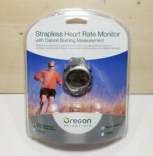 New Oregon Scientific Strapless Heart Rate Monitor Watch Calories Counter Timer
