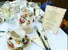 Vintage China Tea Sets For Hire SE London & Kent Tea For 4 Do Something Special