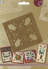 "Prägeschablone / Embossing-Folder - ""Happy New Year""  von AVEC"