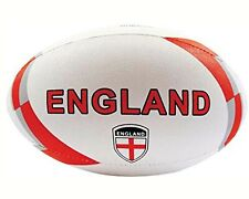 Training Rugby Ball Match Official Size 5 Hand-Stitched Standard Adhesive Grip