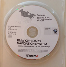 01 2002 2003 BMW 740i 745i 740iL 745Li NAVIGATION CD CANADA AB QC ON SK NU NL BC