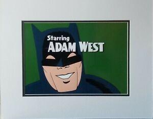 Batman Adam West Scene 1966 TV Series Hand Painted Animation Cel