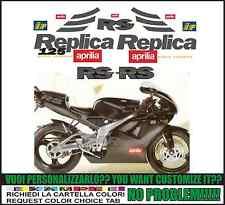 kit adesivi stickers compatibili  rs 125 1997 replica