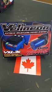 Traxxas Velineon VXL-3S Brushless Power System Motor ESC Combo # 3350R, New