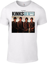 The KINKS T-shirt Really Got Me Ray Davies vinyl cd small faces who mod 1960s W