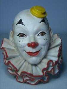 Legend Products CLOWN #2 Various Small Chips Plaster Chalkware Head Wall Plaque