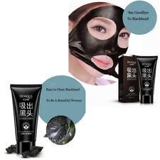 2x 60g Bioaqua Blackhead Remover Mud Mask Peel Off Black Masks Activated Carbon