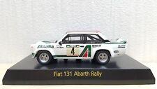 1/64 Kyosho FIAT 131 ABARTH RALLY ALITALIA #4 diecast car model