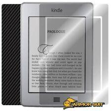 ArmorSuit MilitaryShield Amazon Kindle Touch 3G Screen + Black Carbon Fiber