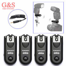 4pcs Yongnuo RF-603 II Radio Wireless Remote Flash Trigger C1 for Canon 1000D/60