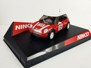 Scx Scalextric Slot Ninco Mini Cooper Red Bus Red Nº 18 From Set 20115