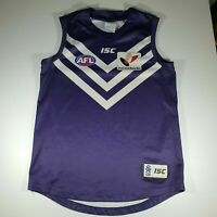 ISC Official Fremantle DOCKERS Guernsey AFL jersey SZ XL Jumper Football