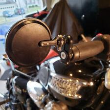 Motorcycle Foldable Bar End Mirrors For Triumph Street Triple Thruxton 1200 HG