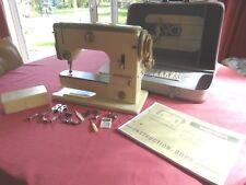 Vintage Rare Green Bernina 600 Sewing Machine - Made in Switzerland