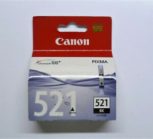 Original Canon CLI-521BK Black Pixma MP620 MP630 MP640 MP980 MP990 Packaging