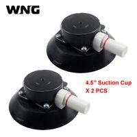 "2PCS 4.5"" Mounting Vacuum Suction Cup W/ 1/4""-20 Thread Hand Pump Glass Sucker"