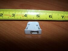 CORD LOCK FOR GRABER CELLULAR SHADE OLD TYPE WHITE WITH CORD GUIDE OLD STOCK
