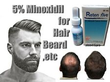 5% MINOXIDIL FACIAL HAIR GROWTH SERUM GROW MUSTACHE BEARD SIDEBURNS EYEBROWS