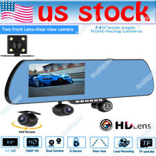 XTRONS Universal Cam Waterproof 360 Degree Car Side Front Rear Camera Wide Angle Lens NTSC//PAL Blind Spot Camera Adhesive Mount