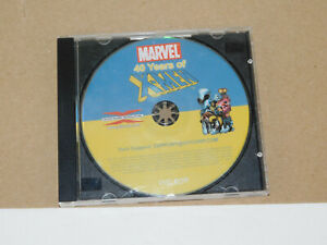 MARVEL 40 Years Of X-Men XMEN X MEN DVD ROM Over 485 Printable Comics DISC ONLY