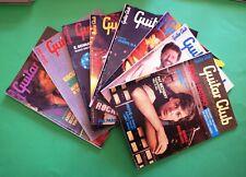 Lotto 8 Voll. - Guitar Club  - Ed. Muzzio 1987
