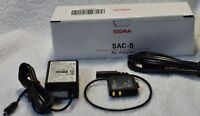 SIGMA AC adapter SAC-5 For SIGMA DP2 Merrill Free Shipping w/Tracking# Japan New