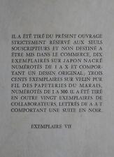1955 Les Divagations érotiques Sixte Eric Losfeld éditeur Bibliophilie curiosa