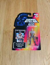 Star Wars POTF2 Luke Skywalker Dagobah Fatigues Italian MOC 1995 - Rare SS/LT