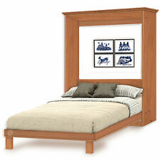 2-Panel Camber Top Full Wall Bed Woodworking Plans, 4FDWB
