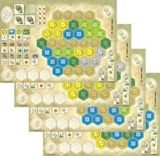 The Castles Of Burgundy NEW player boards Set 1 Spielbox 2011 Die Burgen game