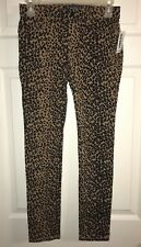 Girl's Old Navy Rockstar Leopard Jeggings, Size 12