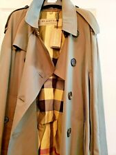 Burberry PRORSUM ALLENSFORD Wmn Olive Knee/Lng Сape Jacket Trench Coat size 10US