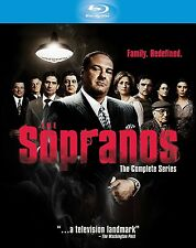 The SOPRANOS COMPLETE SERIES SEASON 1 2 3 4 5 6 BOXSET 28 DISC BLU RAY NEW 1-6