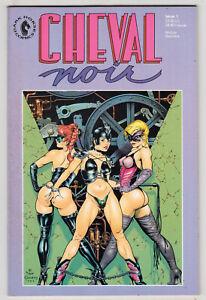 Cheval Noir #1, DAVE STEVENS, GEOF DARROW, Dark Horse 1989 FINE  r