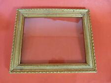 Rahmen, Bilderrahmen, um 1900, 35,5 cm x 30 cm, Altes Glas