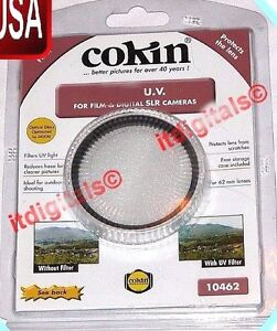 Genuine Cokin 55mm UV Lens Dust Protector Protection Safety Glass Filter Guard