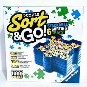 Ravensburger Sort and Go Jigsaw Puzzle Accessory Stack Sorting Trays