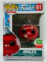FUNKO POP JINGLES CHRISTMAS SPASTIK PLASTIK CYBER MONDAY LIMITED SHOP EXCLUSIVE