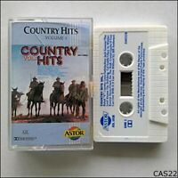 Country Hits Volume 1 Tape Cassette (C22)