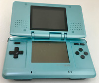 Nintendo DS Original NTR-001 Console with Charger- Sky Blue - Tested Works