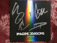 Imagine Dragons Evolve cd with hand signed cd booklet autographed 2017