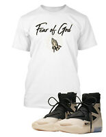 Sneaker Tee Fear of God Tee Shirt to Match with Street Wear Shoes Big Tall Small
