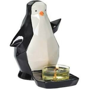 PARTYLITE Origami Penguin Tealight Holder, 50% OFF      ***BRAND NEW IN BOX***