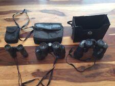 3 x Binoculars - BRESSER - REVUE RANGER - PRAKTICA As Pictured